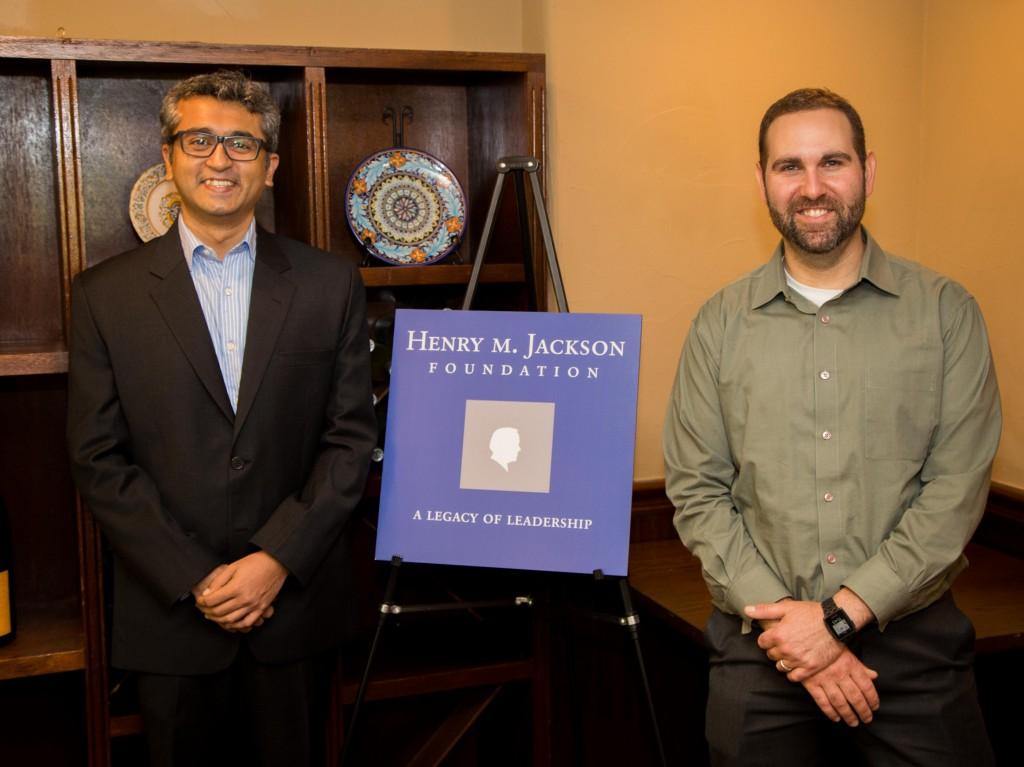 Deep Pal and Oded Oron, Jackson PhD Fellows